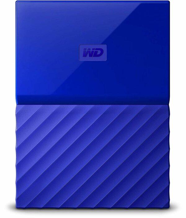 """HDD WD EXTERN 2.5″ USB 3.0 2TB MY PASSPORT Blue """"WDBS4B0020BBL-WESN"""""""