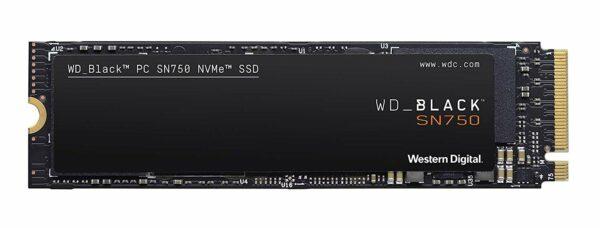 "SSD series Black SN750, 250GB, Form Factor M.2, PCIE, Write speed 1600 MBytes/sec, Read speed 3100 MBytes/sec, Drive thickness 2.38mm, MTBF 1750000 hours ""WDS250G3X0C"""