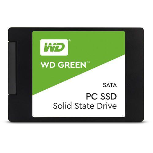 "SSD series Green, 480GB, SATA 3.0, Technology TLC, Read speed 545 MBytes/sec, Form Factor 2,5″, Drive thickness 7mm, MTBF 1000000 hours ""WDS480G2G0A"""