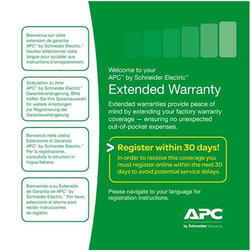 "Extensie garantie APC 3 ani pentru reinnoire [electronic] ""WEXTWAR3YR-SP-06"""