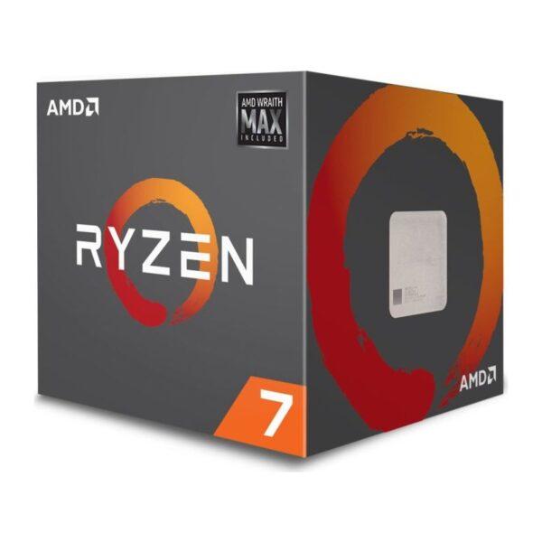 "CPU AMD, skt. AM4 AMD Ryzen 7, 2700, frecventa 3.2 GHz, turbo 4.1 GHz, 8 nuclee, putere 65 W, cooler, ""YD2700BBAFMAX"""