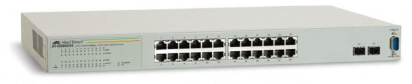 """Switch 24 port 10/100/1000TX WebSmart with 4 SFP bays, Allied Telesis """"AT-GS950/24-50"""""""