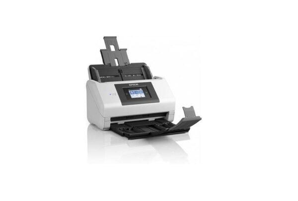 "SCANNER EPSON DS-780N, dimensiune A4, tip sheetfed, viteza scanare: 90 ipm alb-negru si color, rezolutie optica 600x600dpi, ADF Single Pass 100 pagini, duplex, ""B11B227401"""