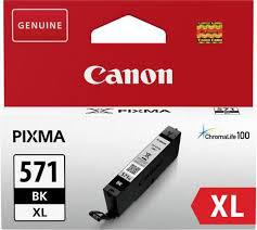 "Cartus Cerneala Original Canon Black, CLI-571XLBK, pentru MG5750/5751/6850/6851/7750/7751/7752/TS5050/6050/8050/9050, 11ml, ""BS0331C001AA"""