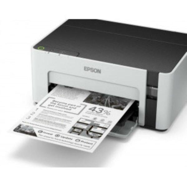 "Imprimanta CISS Mono Epson M1120, A4, Functii: Impr., Viteza de Printare Monocrom: 32 ppm, Viteza de printare color: nu e cazul, Conectivitate:USB|Retea, Duplex:nu, ADF:Nu(incl.TV 21RON) ""C11CG96403"""
