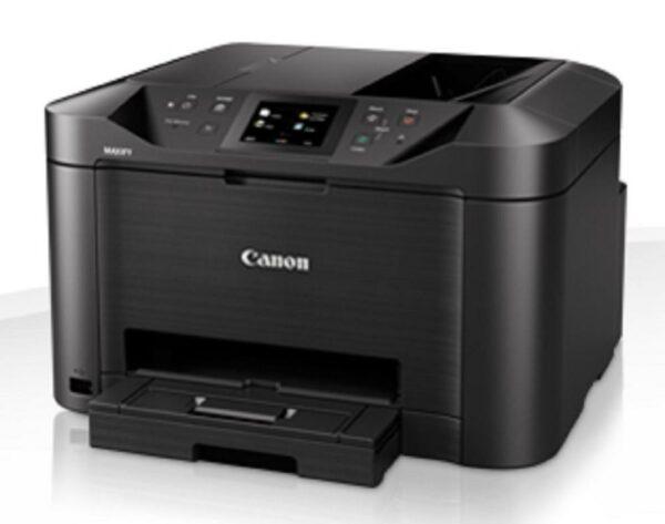 "Multifunctional Inkjet Color Canon Maxify MB5150, A4, Functii: Impr. Scan. Cop. Fax, Viteza de Printare Monocrom: 24ppm, Viteza de printare color: 15.5ppm, Conectivitate:USB Ret WiFi, Duplex:Da, ADF:ADF(incl.TV 10RON) ""CH0960C009AA"""