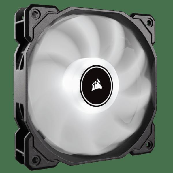 "Cooler carcasa Corsair AF140 LED Low Noise Cooling Fan, 1200 RPM, Single Pack – White ""CO-9050085-WW"""