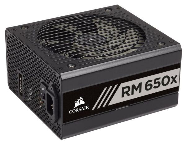 """Sursa Corsair RMx Series RM650x (2018), 650W, full-modulara, 80 Plus Gold, Eff. 90%, Active PFC, ATX12V v2.4, 1x135mm fan, retail """"CP-9020178-EU"""""""