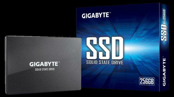 "SSD GIGABYTE, 256 GB, 2.5 inch, S-ATA 3, 3D Nand, R/W: 500/420 MB/s, ""GP-GSTFS31256GTND"""