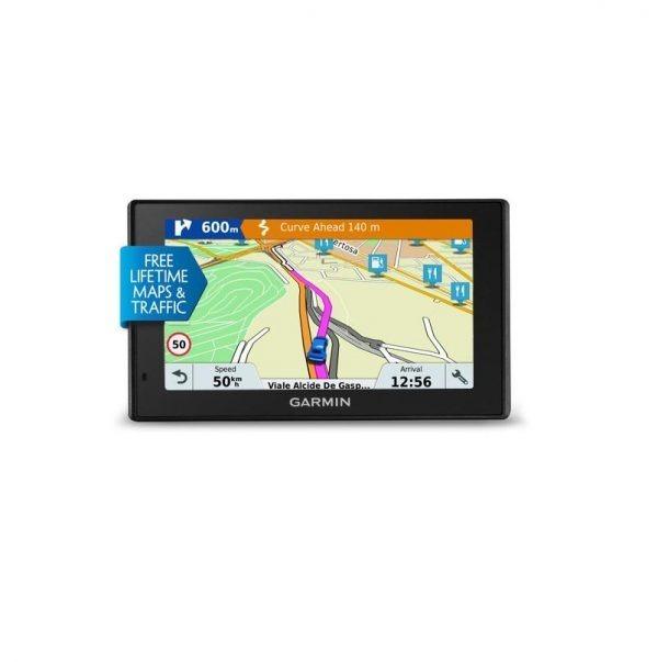 """GPS GARMIN DRIVESMART 51 LMT 5″ EUROPE, 020-00161-96, afisaj tactil luminos cu o capacitate de 5.0 inci, ecran color WQVGA TFT cu iluminare de fundal alba, 480 x 272 pixeli, card microSD (neinclus). """"GR-020-00161-96"""""""