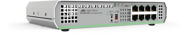 "SWITCH ALLIED TELESIS, GS910/8, porturi Gigabit x 8, unmanaged, carcasa metalica, ""AT-GS910/8-50"""