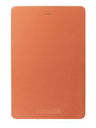 """HDD extern TOSHIBA 500 GB, Canvio Alu, 2.5 inch, USB 3.0, rosu, """"HDTH305ER3AB"""""""