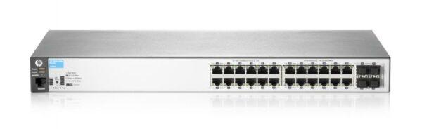 "SWITCH HP, HP 2530, porturi Gigabit x 24, SFP x 4, managed, rackabil, carcasa metalica, ""J9776A"""