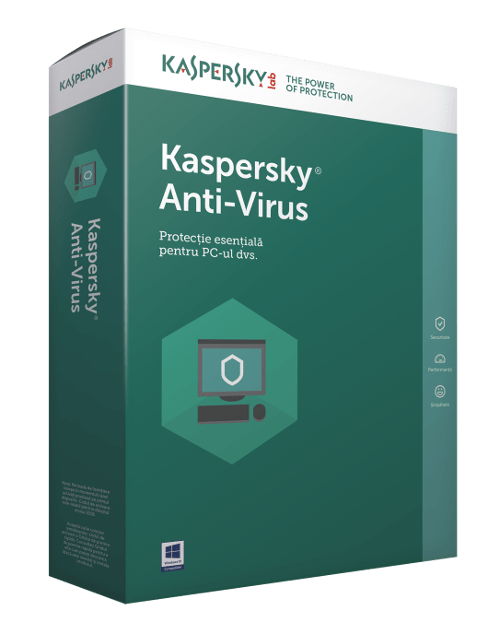 "Licenta Kaspersky Anti-Virus 1-Desktop 1 year Base License Pack ""KL1171XCAFS"""
