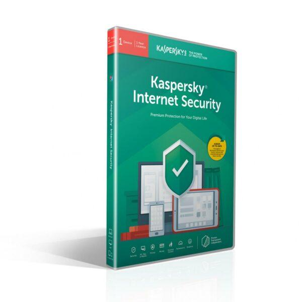 "LICENTA retail KASPERSKY, tip Internet Security, pt PC | Mac | Smartphone | Tableta, 1 utilizator, valabilitate 1 an, Windows | macOS | iOS | Android, ""KL1939X5AFS"""