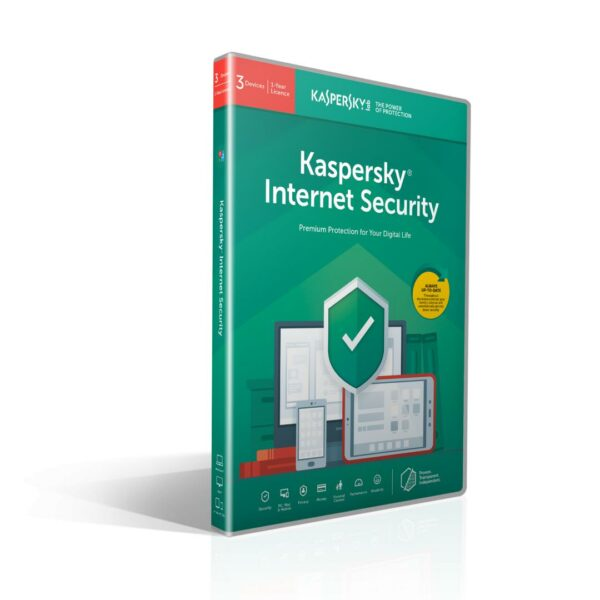 "Licenta Kaspersky Internet Security, Multi-Device, 3-Device 12 months renewal BOX ""KL1939X5CFR"""
