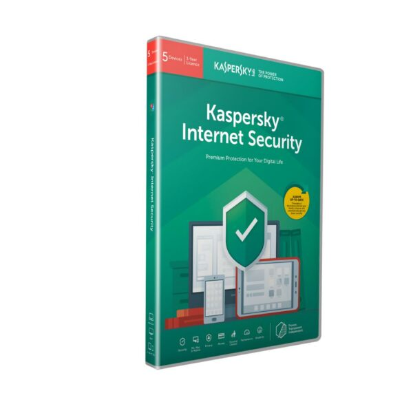 "LICENTA retail KASPERSKY, tip Internet Security, pt PC | Mac | Smartphone | Tableta, 5 utilizatori, valabilitate 1 an, Windows | macOS | iOS | Android, ""KL1939X5EFS"""
