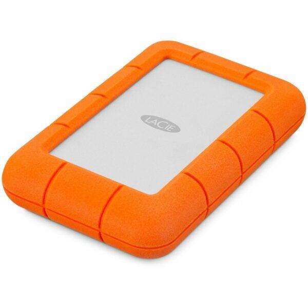 """HDD extern LACIE 4 TB, Rugged, 2.5 inch, USB 3.0, argintiu, """"LAC9000633"""""""