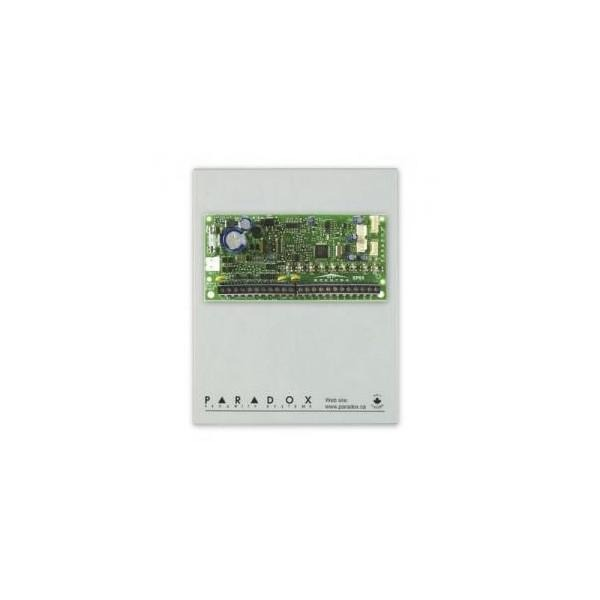 """CENTRALA alarma Paradox, wireless, Built-in transceiver (433MHz or 868MHz), RF Jamming Supervision, StayD Mode, 4-wire communication """"MG5000(PCB)+CUTIEM"""""""