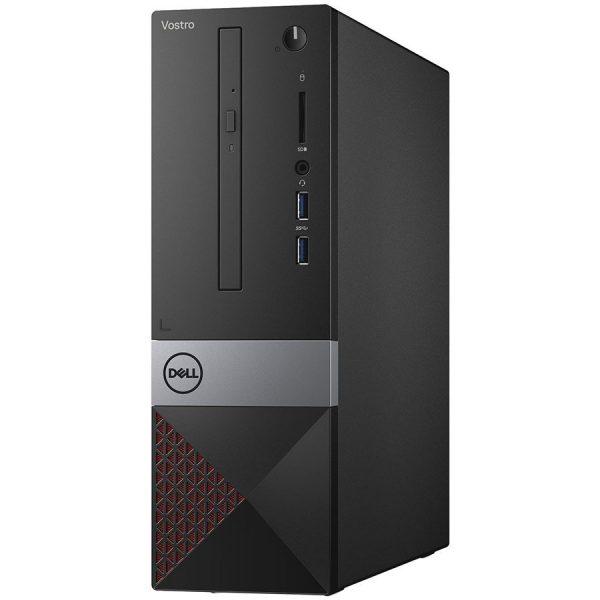 """Dell Vostro Desktop 3470 SFF, Intel Core i3-8100, 4GB(1x4GB) DDR4 2400MHz, 128GB(M.2) SATA, Intel Graphics, DVD+/-RW, WiFi 802.11bgn, BT 4.0, Dell MS116 USB Mouse, Dell KB216 US Keybd, Ubuntu, 3Yr NBD """"N203VD3470BTPEDB03_1901_UBU_3YR-05"""""""