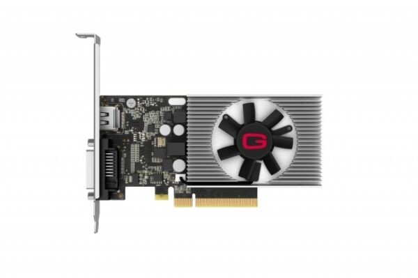 "PLACA VIDEO GAINWARD NVIDIA GeForce GT 1030, 2 GB GDDR4 64 biti, PCI Express 3.0 x 8, HDMI, DVI, sistem racire aer activ, ""426018336-4085"""