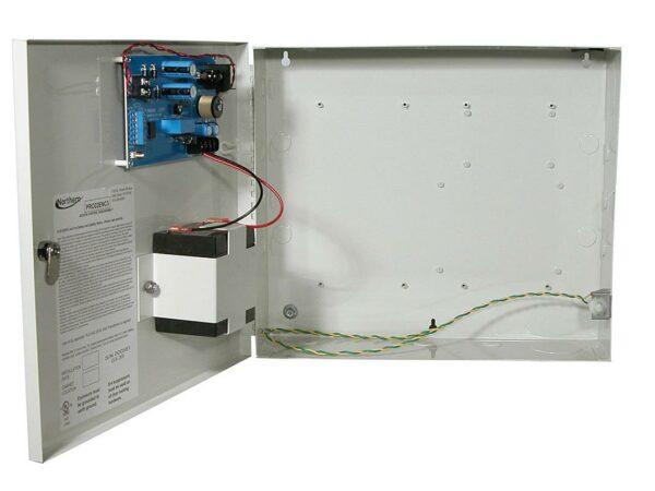 "CARCASA Honeywell, pt 2 module, sursa 2A, acumulator 4A, necesita transf PSX220, ""PRO22ENC3"""