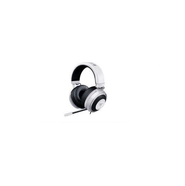"Casti cu microfon Razer Kraken Pro V2 # Analog Gaming Headset # WHITE # Oval Ear Cushions, RZ04-02050500-R3M1, Audio drivers: 50 mm, Audio type: Stereo, ""RZ04-02050500-R3M1"""