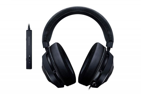 "Casti cu microfon Razer Kraken Tournament Edition – Wired, THX Spatial Audio, Full size, 12 Hz # 28 kHz, 32ohm, culoare neagra, cablu 2m, Input power: 30 mW, ""RZ04-02051000-R3M1"""