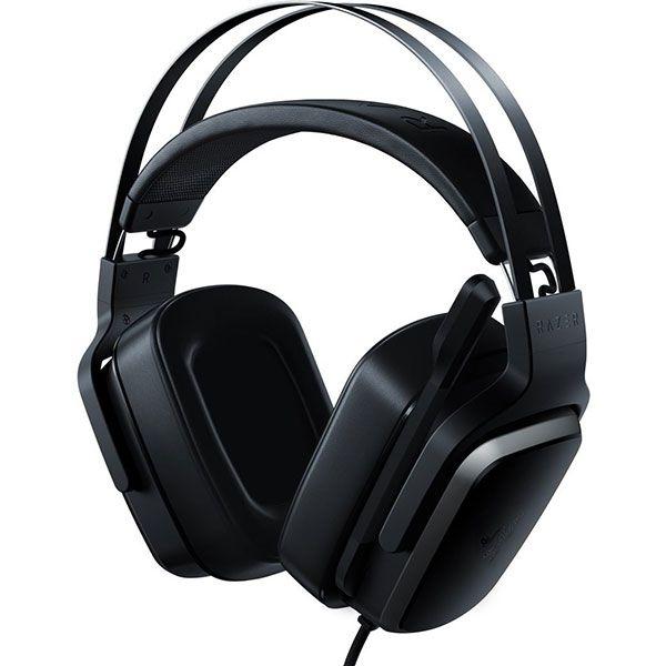 "CASTI Razer, ""Tiamat"", cu fir, gaming, utilizare multimedia, microfon pe brat, conectare prin Jack 3.5 mm, Jack 3.5 mm x 4, negru, ""RZ04-02070100-R3M1"", (include TV 0.75 lei)"