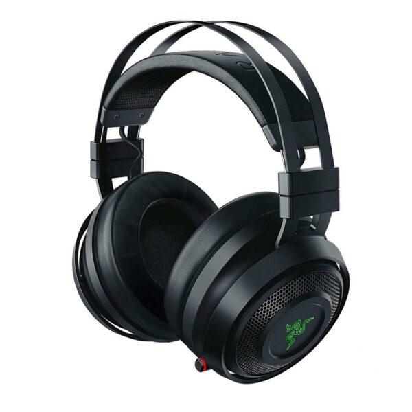 """CASTI Razer, """"Nari"""", wireless, cu fir, gaming, utilizare multimedia, microfon pe brat, conectare prin 2.4 GHz (WiFi), Jack 3.5 mm, negru, """"RZ04-02680100-R3M1"""", (include TV 0.75 lei)"""