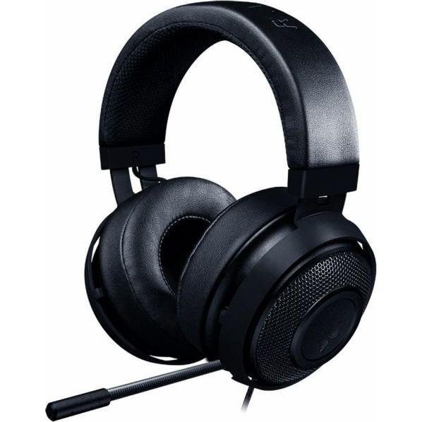 "Casti cu microfon Razer Kraken, Frequency response: 12 Hz # 28 kHz, Sensitivity (@1 kHz): 109 dB, Input power: 30 mW, Inner ear cup diameter: 54 mm x 65 mm, ""RZ04-02830100-R3M1"""