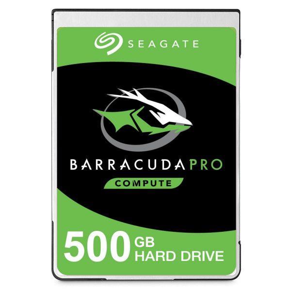 """Barracuda Pro, 500GB, SATA 3.0, Buffer 128 MB, 7200 rpm, Average Seek 11.5 ms, Discs/Heads 1/2, 2,5″, Thickness 7mm """"ST500LM034"""""""