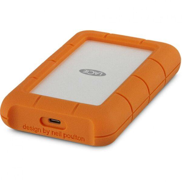 """HDD extern LACIE 1 TB, Rugged, 2.5 inch, USB 3.0, portocaliu/ argintiu, """"STFR1000800"""""""