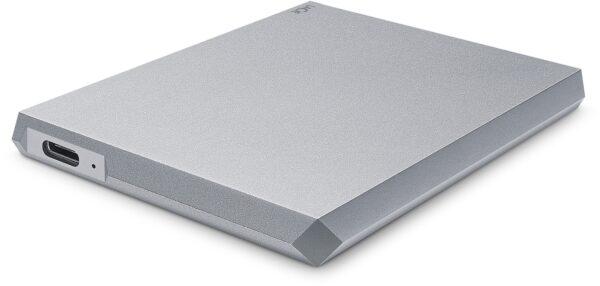 """HDD extern LACIE 2 TB, Moon Silver, 2.5 inch, USB 3.0, argintiu, """"STHG2000400"""""""