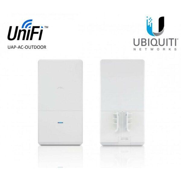 "ACCESS Point Ubiquiti wireless interior 867 Mbps, port 10/100/1000 x 3, antena interna x 2, PoE, 2.4 – 5 GHz, ""UAP-AC-IW"" (include TV 1.5 lei)"