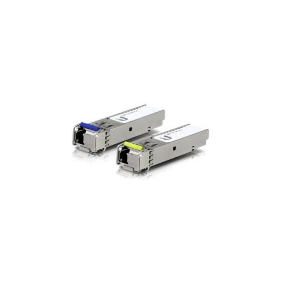 """MODUL SFP UBIQUITY, Single-mode, conector SFP+, TX: 1550 nm, RX: 1310 nm, 3.000 m, 1.25 Gbps, """"UF-SM-1G-S"""""""