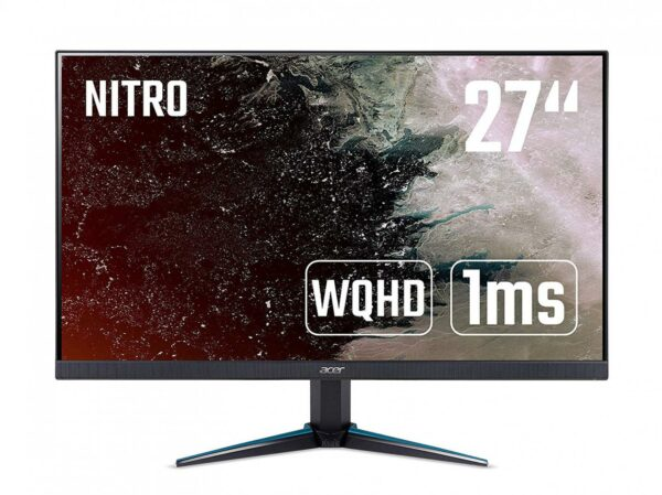 "MONITOR ACER 27″, gaming, IPS, WQHD, 2560 x 1440, 144 Hz, Wide, 350 cd/mp, 1 ms, HDMI, DisplayPort, boxe incorporate, ""Nitro VG270UPbmiipx"" ""UM.HV0EE.P01"""