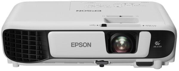 "PROIECTOR EPSON EB-W41, lampa UHE, 3600 lumeni, rezolutie WXGA (1280 x 800), contrast 15.000 : 1, VGA, HDMI, Monitor Out, USB 2.0, USB 2.0 Mini-B, mini-jack,boxe, ""V11H844040"""