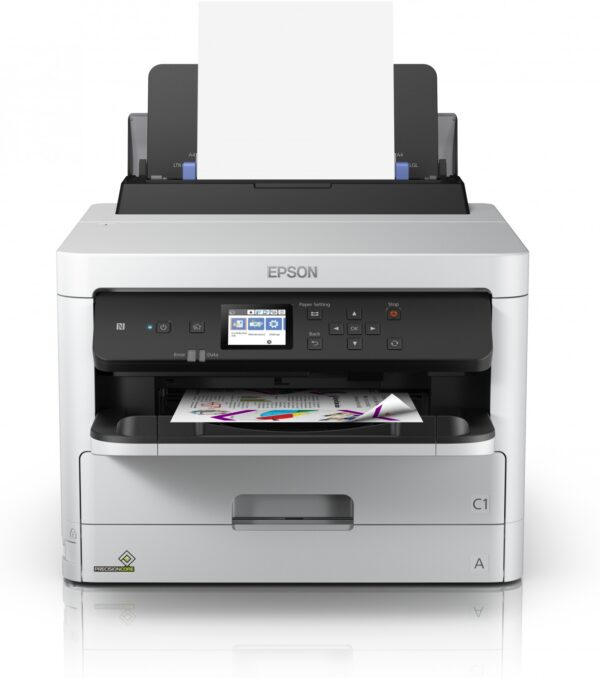 "Imprimanta Inkjet Color Epson WF-5290DW, A4, Functii: Impr., Viteza de Printare Monocrom: 34 ppm, Viteza de printare color: 34 ppm, Conectivitate:USB|WiFi, Duplex:Da, ADF:Nu(incl.TV 30RON) ""C11CG05401"""
