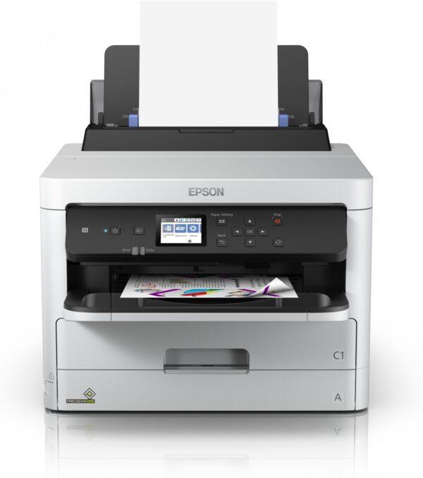 "Imprimanta Inkjet Color Epson WF-C5210DW, A4, Functii: Impr., Viteza de Printare Monocrom: 24 ppm, Viteza de printare color: 24 ppm, Conectivitate:USB|Retea|WiFi, Duplex:Da, ADF:Nu(incl.TV 21RON) ""C11CG06401"""