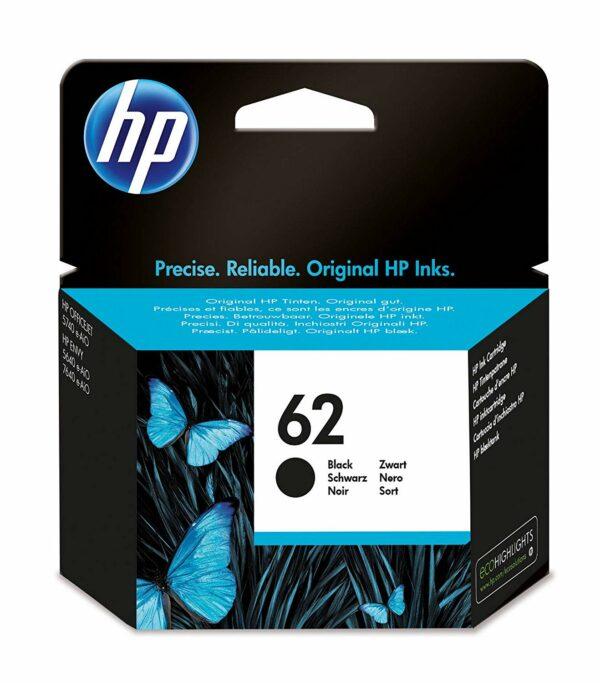 """Cartus Cerneala Original HP Black, nr.62, pentru ENVY 5640 AIO, 200, """"C2P04AE"""""""