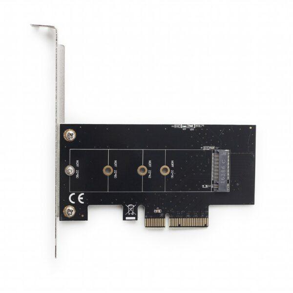 "CARD adaptor GEMBIRD, PCI-Express la M.2 SSD, low profile, ""PEX-M2-01"""
