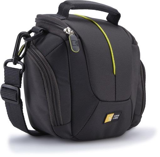 "GEANTA pt. camera compacta, CASE LOGIC, Hybrid, buzunar intern | buzunar lateral x 2, curea detasabila, negru, ""DCB-314 ANTHRACITE"" / 3201685"