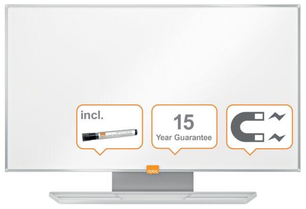 """TABLA MAGNETICA NOBO Nano Clean Widescreen, 32″, din otel, """"1905296"""""""