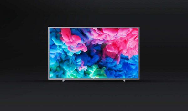"Televizor LED PHILIPS 43PUS6523/12, 43″- 108 cm, Ultra slim, 4K UHD 3840*2160, 16:9, certificat Wi-Fi Miracast, HbbTV, procesor Quad Core, boxe20W, Incredible Surround, 3* HDMI, component, 2*USB, Wi-Fi ""43PUS6523/12"""