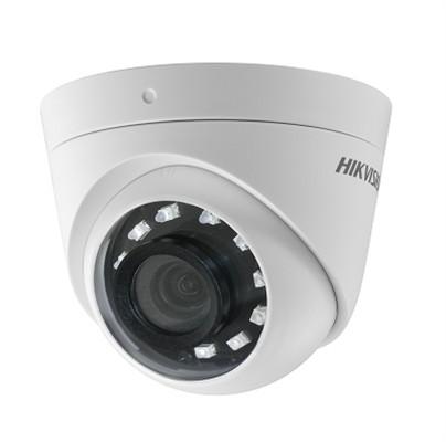 """Camera de supraveghere Hikvision TurboHD Dome DS-2CE56D0T-I2PFB(3.6mm); 2MP; camera cu videobalun incorporat; 2MP CMOS Image Sensor; FULL HD 1920 xxxx 1080@25fps; lentila: 2.8mm; distanta IR: 20m, Smart IR; """"DS-2CE56D0T-I2FB28"""""""