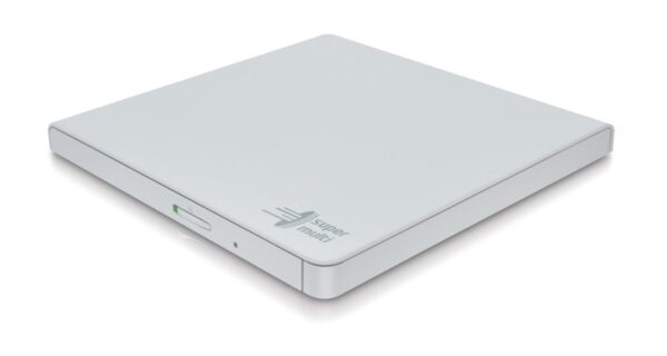 "Unitate optica HITACHI-LG, DVD+/-RW, 8x, GP57EW40, extern, USB2.0, slim, alb, retail. ""GP57EW40"""