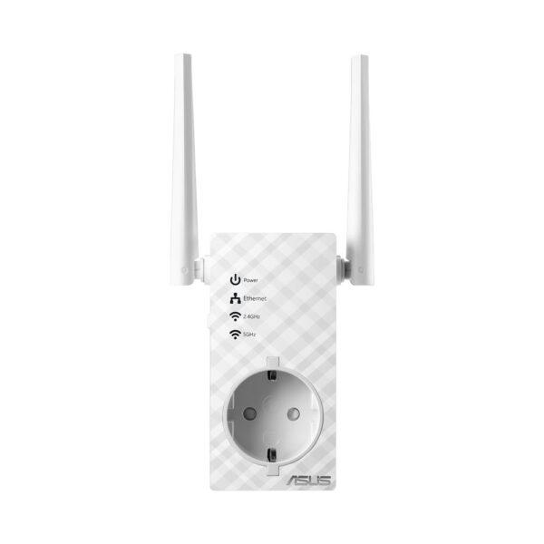 "Data transmission speed 750 Mbps, IEEE 802.11a, IEEE 802.11b, IEEE 802.11g, IEEE 802.11n, IEEE 802.11ac, 1×10/100M, WPA – Wi-Fi Protected Access, WPA2 – Wi-Fi Protected Access, WPS – WiFi Protected Setup, ""RP-AC53"""