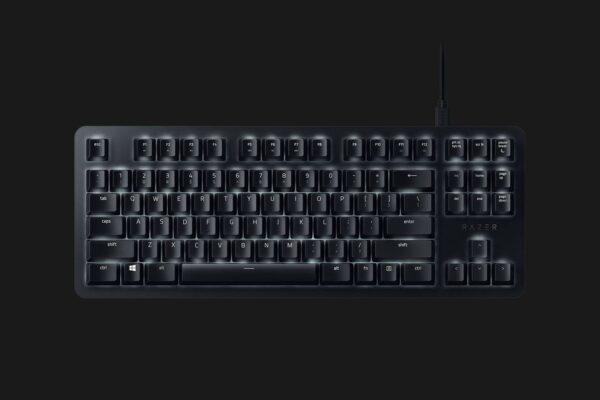 "Tastatura Razer BLACKWIDOW LITE Gaming Mercury, cu fir, US layout, neagra, Razer Mechanical Switches (Orange), Silent Keys with included o-rings, Razer Synapse 3 configuration tool, Gaming mode option, ""RZ03-02640700-R3M1"""