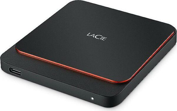 "SSD extern Lacie, Portable SSD, 500GB, USB 3.0, Read speed: up to 540MB/s, Slim ""STHK500800"""